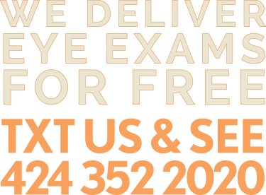 We deliver eye exams for free
